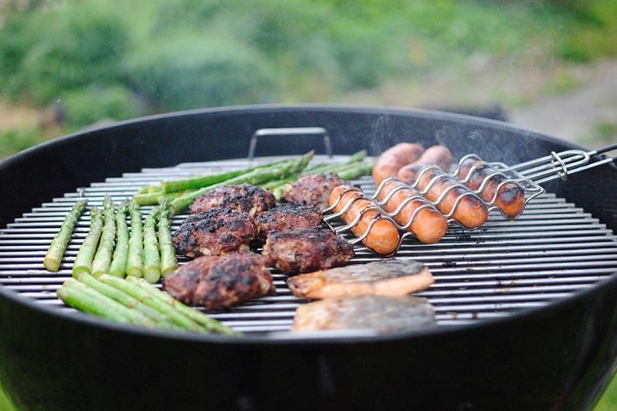 A summer barbecue in a Kent garden
