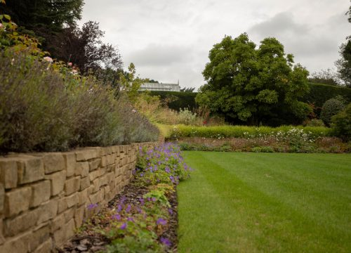 Large Garden Design - Flower Planting