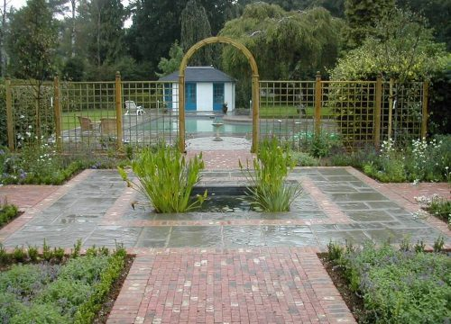 Large Garden Design - Swimming Pool