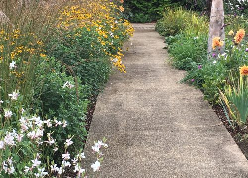 Traditional Garden Path