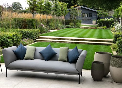 Contemporary Large Garden