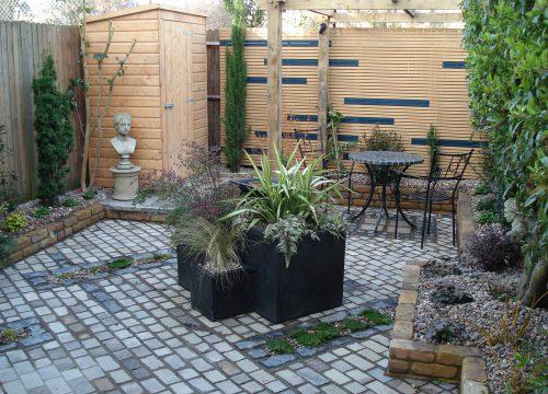 Small Garden Design - Courtyard