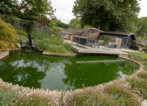 Large Garden Design - Large Pond